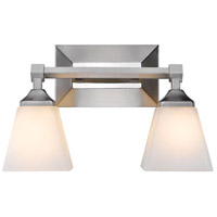 Gentry 2 Light 15 inch Pewter Bath Vanity Wall Light