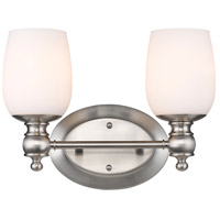 Constance 2 Light 14 inch Pewter Bath Vanity Wall Light