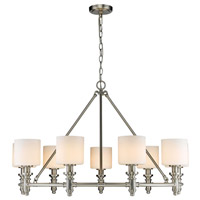 Beckford 9 Light 36 inch Pewter Chandelier Ceiling Light