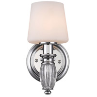 Vanna 1 Light 5 inch Chrome Bath Vanity Wall Light