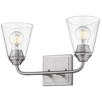 Pewter Ormond Bathroom Vanity Lights