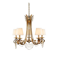 Gwendolyn 5 Light 24 inch Golden Radiance Chandelier Ceiling Light