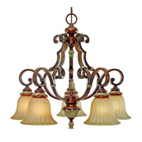 Golden Lighting Bristol Place 5 Light Chandelier in New World Bronze 2501-D5-NWB photo thumbnail