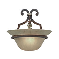 Golden Lighting Bristol Place 1 Light Sconce in New World Bronze 2501-WSC-NWB photo thumbnail