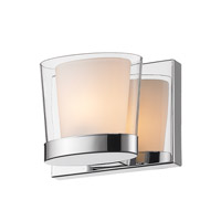 Golden Lighting Vanora 1 Light Bath Vanity in Chrome 3030-BA1-CH