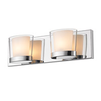 Golden Lighting Vanora 2 Light Bath Vanity in Chrome 3030-BA2-CH