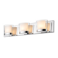 Golden Lighting Vanora 3 Light Bath Vanity in Chrome 3030-BA3-CH