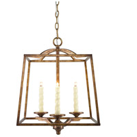Golden Lighting Athena 3 Light Pendant in Grecian Gold 3071-3P-GG