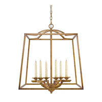Athena 6 Light 23 inch Grecian Gold Foyer Pendant Ceiling Light