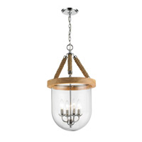 Golden Lighting Harland 4 Light Pendant in Chrome 3086-4P-CH