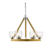 Golden Harland 6 Light Chandelier in Chrome 3086-6-CH