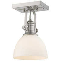 Golden Lighting Pewter Semi-Flush Mounts