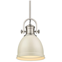 Golden Lighting 3120-S-PW-PR Temporary 1 Light 9 inch Pewter Mini Pendant Ceiling Light
