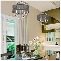 Golden Lighting 3167-4P-PW-BLK Colson PW 4 Light 17 inch Pewter Chandelier - Mini Ceiling Light alternative photo thumbnail