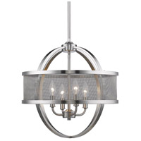 Colson 4 Light 18 inch Pewter Chandelier Ceiling Light