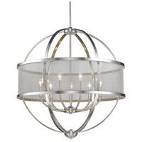Colson 9 Light 33 inch Pewter Chandelier Ceiling Light