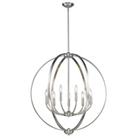Colson 9 Light 31 inch Pewter Chandelier Ceiling Light