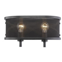 Colson 2 Light 15 inch Etruscan Bronze Bath Vanity Wall Light