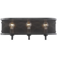 Colson 3 Light 21 inch Etruscan Bronze Bath Vanity Wall Light