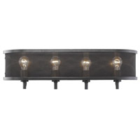 Golden Lighting 3167-BA4-EB Colson EB 4 Light 27 inch Etruscan Bronze Bath Fixture Wall Light