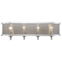 Colson 4 Light 27 inch Pewter Bath Vanity Wall Light