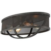 Golden Lighting 3167-FM24-EB-EB Colson 4 Light 24 inch Etruscan Bronze Flush Mount Ceiling Light