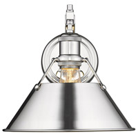 Orwell 1 Light 10 inch Chrome Wall Sconce Wall Light