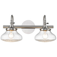 Asha 2 Light 20 inch Pewter Bath Vanity Wall Light