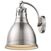 Duncan 1 Light 9 inch Pewter Wall Sconce Wall Light