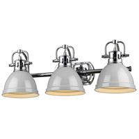Chrome Duncan Bathroom Vanity Lights