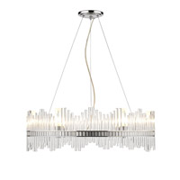 Golden Luciano 6 Light Chandelier in Chrome 4015-6-CH