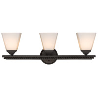 Davenport 3 Light 25 inch Etruscan Bronze Bath Vanity Wall Light