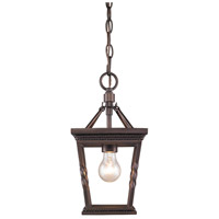 Golden Davenport 1 Light Mini Pendant in Etruscan Bronze 4214-M1L-EB