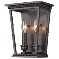 Davenport 2 Light 8 inch Etruscan Bronze Wall Sconce Wall Light