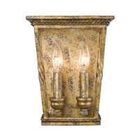 Davenport 2 Light 8 inch Luxe Gold Wall Sconce Wall Light