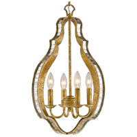 Hayworth 4 Light 16 inch Luxe Gold Pendant Ceiling Light