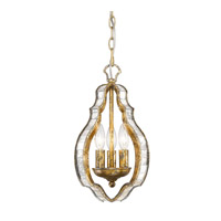 Golden Lighting Hayworth 3 Light Pendant in Luxe Gold 5140-M3-LG