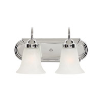 Golden Lighting Brookfield 2 Light Bath Vanity in Chrome 5221-2-CH-MBL