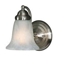 Golden Lighting Centennial 1 Light Wall Sconce in Pewter 5222-1-PW-MBL