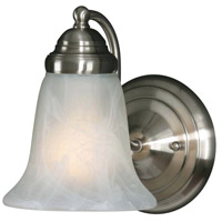 Centennial 1 Light 6 inch Pewter Wall Sconce Wall Light in Marbled Glass