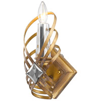Signet 1 Light 7 inch Royal Gold Wall Sconce Wall Light