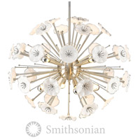 Smithsonian Kyoto 8 Light 32 inch Pewter Pendant Ceiling Light