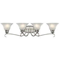 Golden Lighting Lancaster 4 Light Bath Fixture in Pewter with Marbled Glass 6005-BA4-PW alternative photo thumbnail
