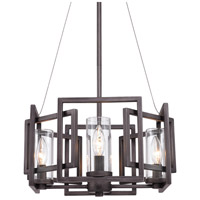 Golden Lighting 6068-4P-GMT Marco 4 Light 16 inch Gunmetal Bronze Pendant Ceiling Light Convertible to Semi-Flush