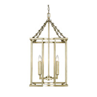 Bellare 4 Light 16 inch White Gold Pendant Ceiling Light