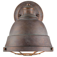 Golden Bartlett 1 Light Sconce in Copper Patina 7312-1W-CP