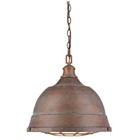 Bartlett 2 Light 17 inch Copper Patina Pendant Ceiling Light