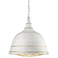 Bartlett 2 Light 17 inch French White Pendant Ceiling Light
