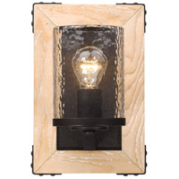 Eastwood 1 Light 8 inch Rustic Bronze Wall Sconce Wall Light