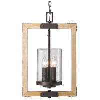Eastwood 3 Light 14 inch Rustic Bronze Pendant Ceiling Light